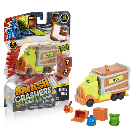 Rig Vehicle - Smash Crashers - Rusty Rigs