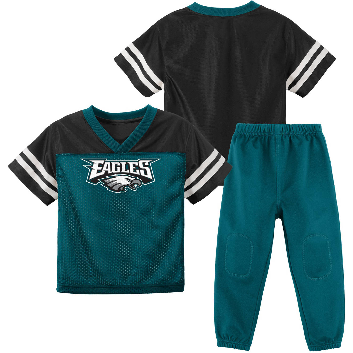 NFL Philadelphia Eagles Toddler Short Sleeve Top and Pant Set