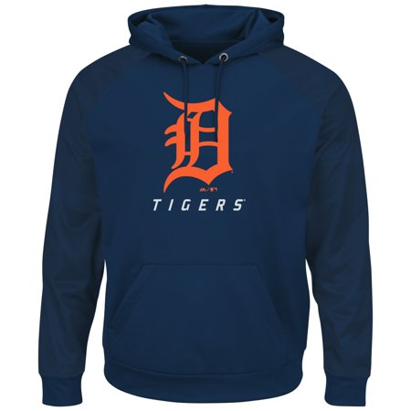 """Detroit Tigers Majestic MLB """"Armor 2"""" Mens Pullover Hooded Sweatshirt by"""