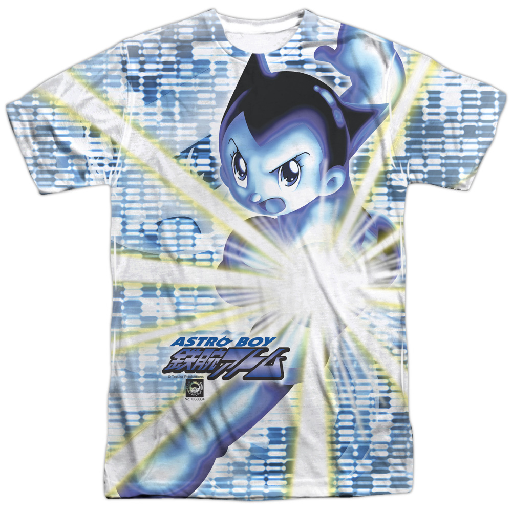 Astro Boy Beams Mens Sublimation Shirt