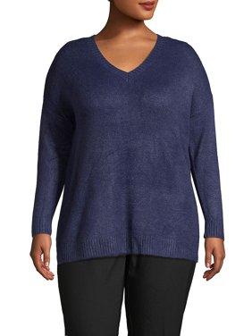 Plus V-Neck Sweater