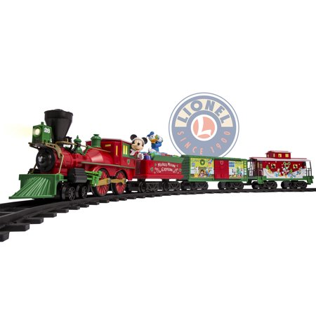 Lionel Disney Mickey Mouse Express Battery-powered Model Train Set Ready To Play with Remote