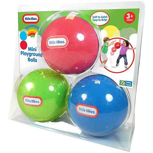 Little Tikes Mini Playground Balls, Set of 3
