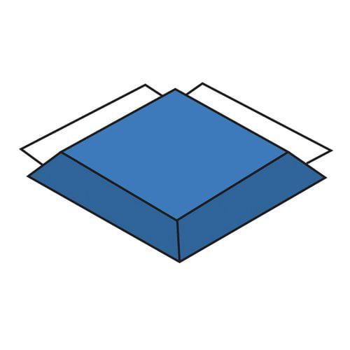 CHILDREN'S FACTORY CF321-549 Blue Corner Modular Mat