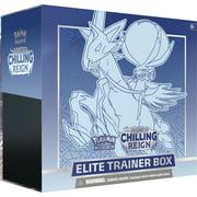 Pokemon TCG: Sword and Shield 6 Chilling Reign Elite Trainer Box- Ice