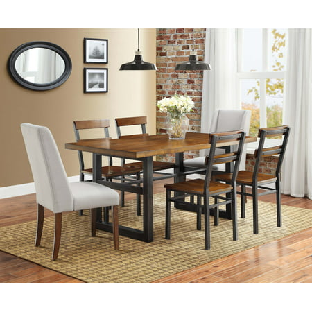 Better homes and gardens mercer dining chair set of 2 - Better homes and gardens mercer dining table ...