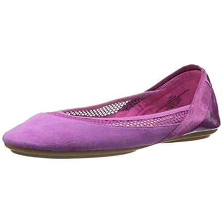 Easy Spirit Womens Yughe Mesh Inset Gel Cushion Ballet Flats (Free Spirit Mesh)