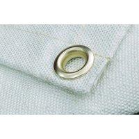 Westward 22RN82 White Uncoated Fiberglass Welding Blanket