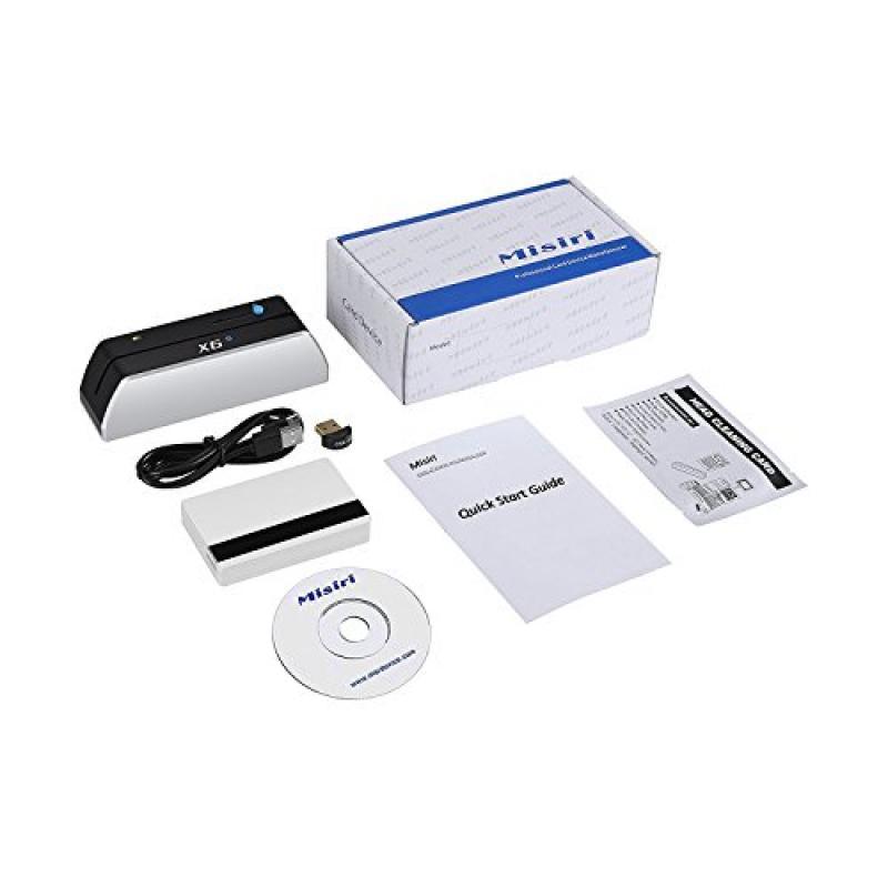 Misiri X6BT Bluetooth Smallest USB Magnetic Credit Card R...