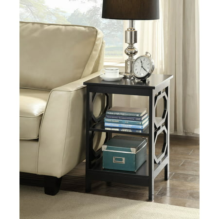 Convenience Concepts Omega End Table, Mutliple Colors](End Table Covers)