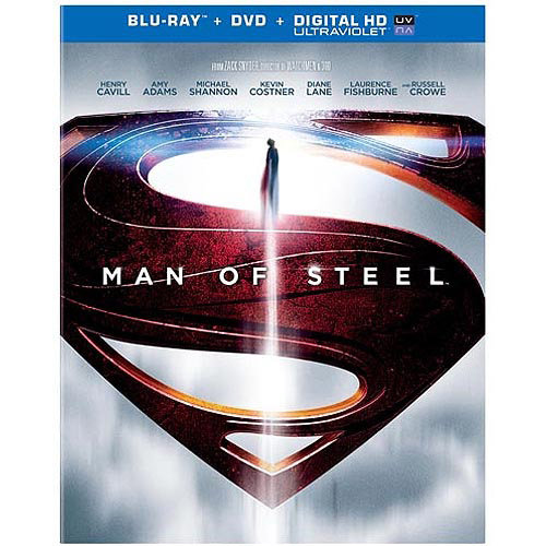 Man Of Steel (Blu-ray + DVD + Digital HD) (Walmart Exclusive) (With INSTAWATCH)