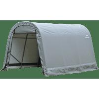 Shelterlogic 8' x 12' x 8' Round Style Shelter, Gray