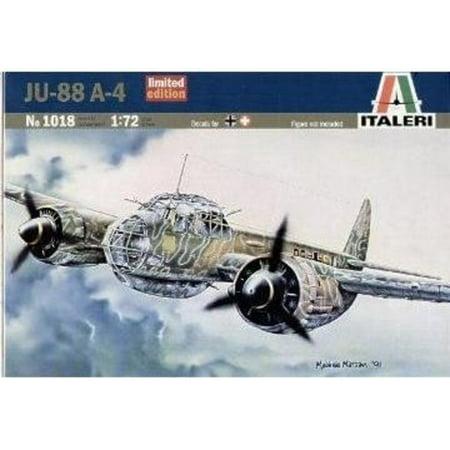 German Bomber (Junkers Ju-88A4 German WWII Bomber 1/72 Italeri)