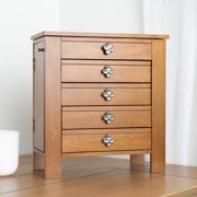 Hives & Honey Emma Jewelry Chest, Brown