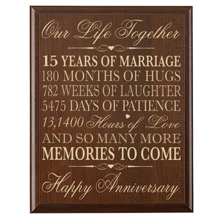15th Wedding Anniversary Gift For Gifts Her
