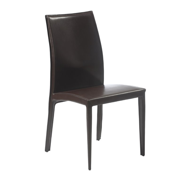 Eurostyle Dafney Dining Chair in Brown - image 1 of 7