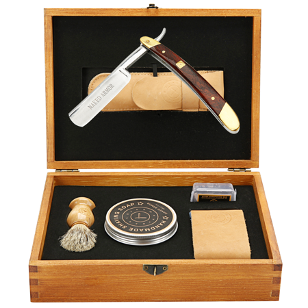 Best Straight Razor Kit - Solomon Shaving Gift