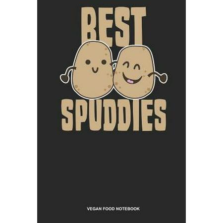 Vegan Food Notebook: Lined Log Book For Vegetarian Or Vegan: Vegan Potato Journal Best Spuddies Gift