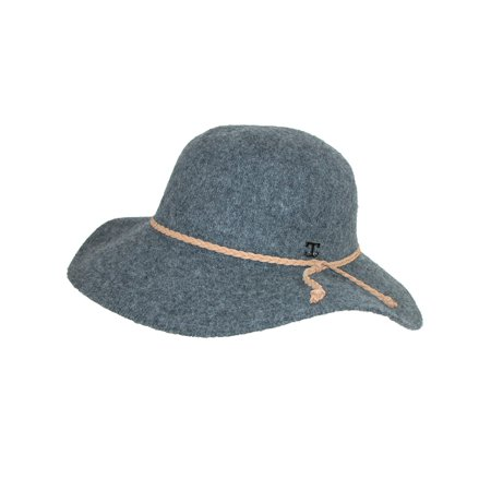 Callanan - Callanan Size one size Women s Floppy Hat with Braided Faux  Leather Hatband - Walmart.com b4669fba6