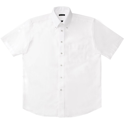 George Men's Short Sleeve Oxford Dress Shirt