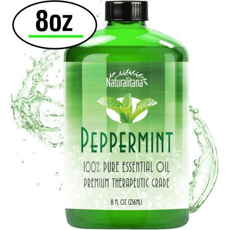 Best Peppermint Oil (8 Oz Bulk) Aromatherapy Peppermint Essential Oil for Diffuser, Topical, Soap, Candle & Bath bomb. Great Mentha Arvensis Mint Scent for Home & Office