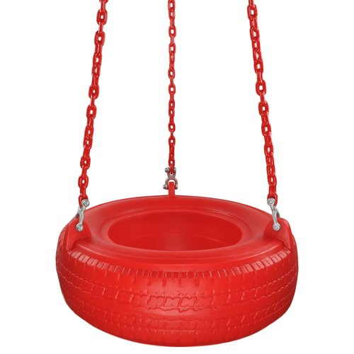 Swing Set Stuff Plastic Tire Swing with Coated Chain