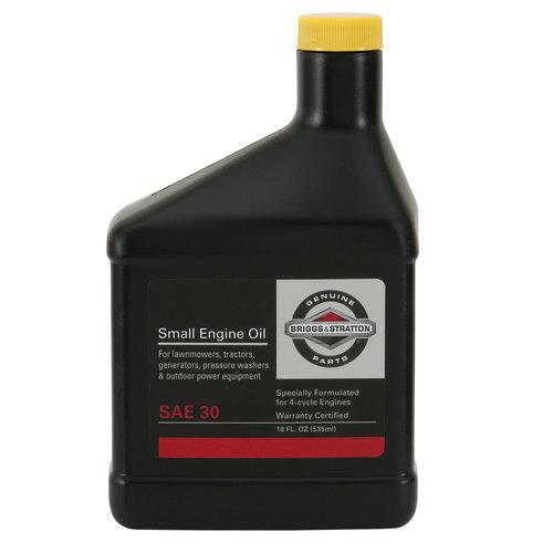 Briggs and Stratton 4-Cycle Oil, 18 oz by Briggs %26 Stratton