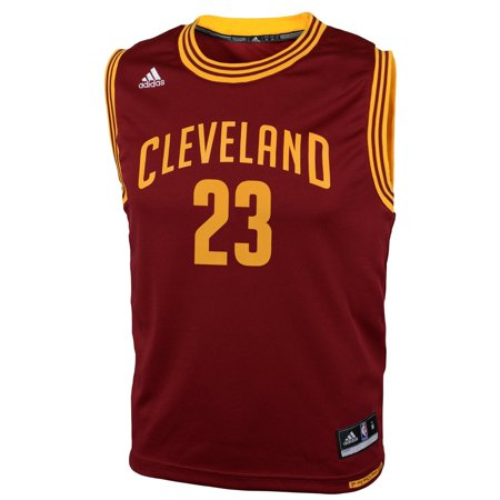 Nba Cleveland Cavaliers Youth Boys 8 20 Replica Road Jersey  James   23  Small
