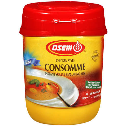 Osem: Chicken Style Instant Soup/Seasoning Mix, 14.1 Oz
