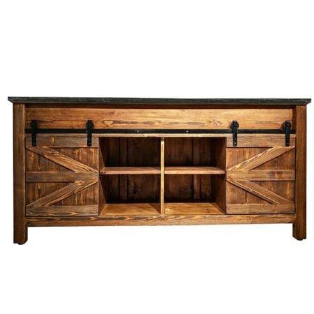 loon peak houblon barn door 72 39 39 double bathroom vanity. Black Bedroom Furniture Sets. Home Design Ideas