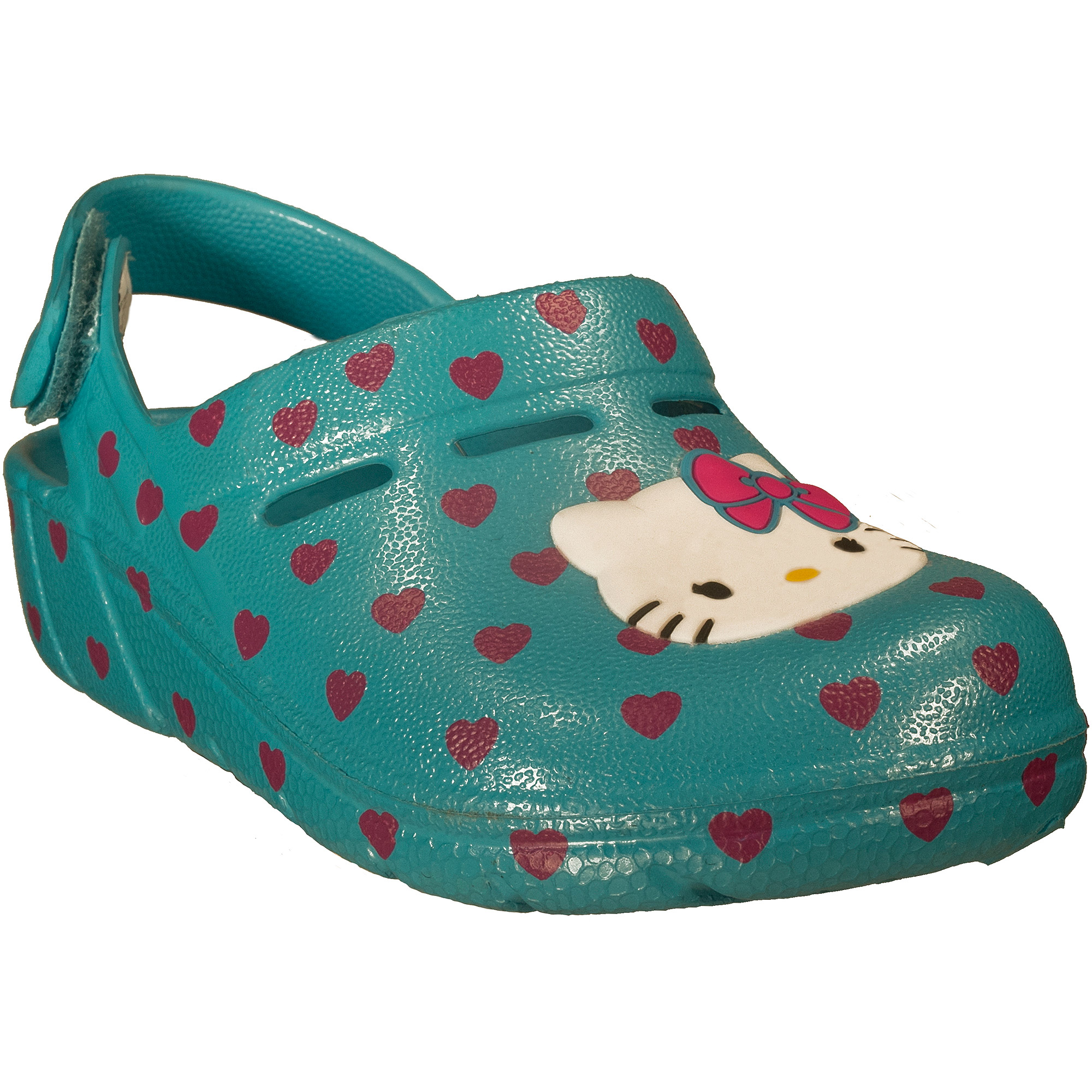 Hello Kitty Toddler Girls' Rubber Clog Shoe