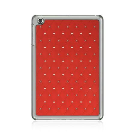 Chrome Case Instruments (DreamWireless IPOD-CHIDMINISTDRD-R Apple iPad Mini Chrome Case - Plaid Studded Diamond, Red )