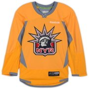 New York Rangers Team-Issued #44 Yellow Practice Jersey - Size 56 - Fanatics Authentic Certified