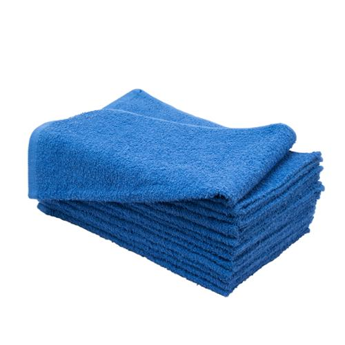 "Altima Plus 16"" x 27"" 12 Pack Bleach Chemical Resistant Cotton Salon Towels, ROYAL BLUE, 78607"
