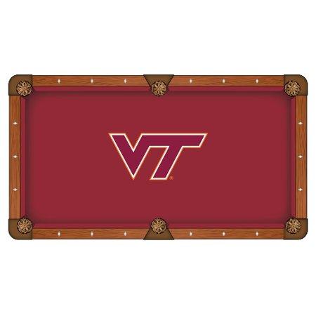 - Virginia Tech Pool Table Cloth 9' w/ Hokies Logo by Hainsworth
