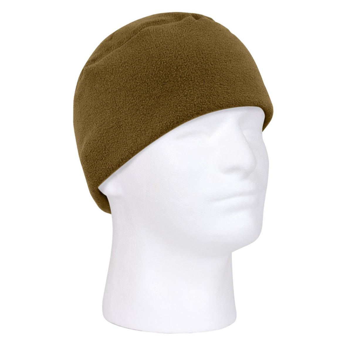 ed677f61aac Warm Polar Fleece Military Style Watch Cap or Beanie - Walmart.com
