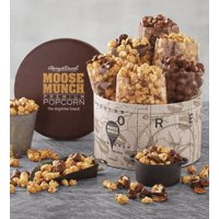 product image moose munch deluxe premium popcorn tin by harry david 6 bags