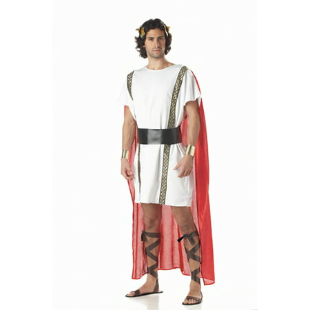 Mark Antony Greek  Adult Mens Halloween Costume - Greek Costume Men