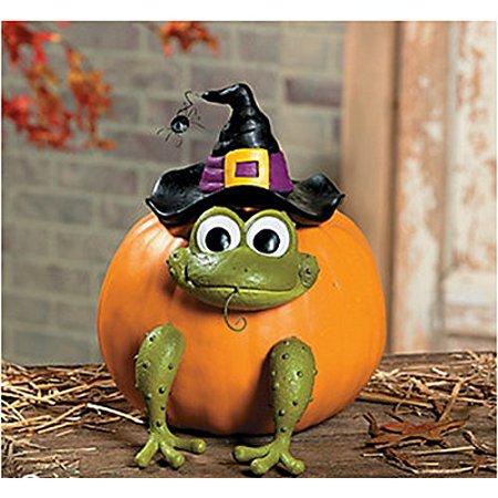 Fun Halloween Pumpkins (Fun Express Halloween Frog Witch Pumpkin Poke In Head and Legs - 1)