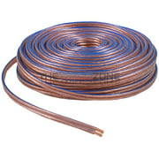 Speaker cables car home audio speaker wire transparent clear cable 12awg 100ft 122 gauge keyboard keysfo Gallery