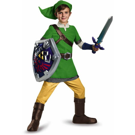 Zelda Link Deluxe Child Halloween Costume - Halloween Costumes Zelda