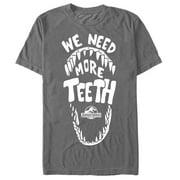 Jurassic World Men's Need More Teeth T-Shirt