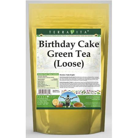 Birthday Cake Green Tea Loose 8 Oz ZIN 535178