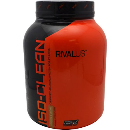 Rivalus Iso-Clean, Cookies & Cream, 48 Portions
