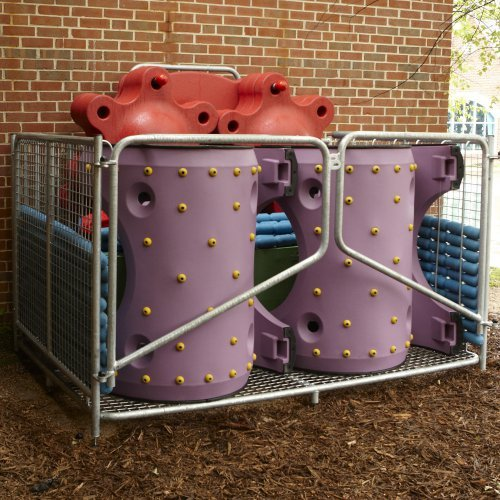 Snug Play Commercial Playground Storage Cage