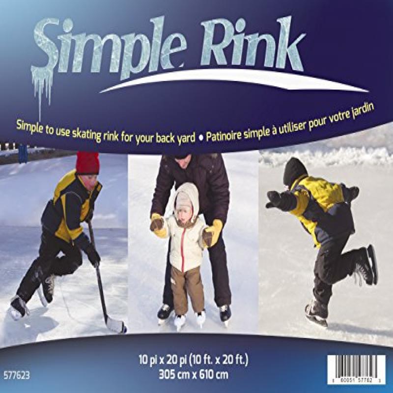 Gazebo Penguin 577623 Simple Skating Rink, 10-Feet x 20-Feet by Gazebo Penguin