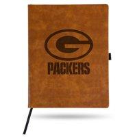 Green Bay Packers Sparo Laser Engraved Large Notepad - Brown