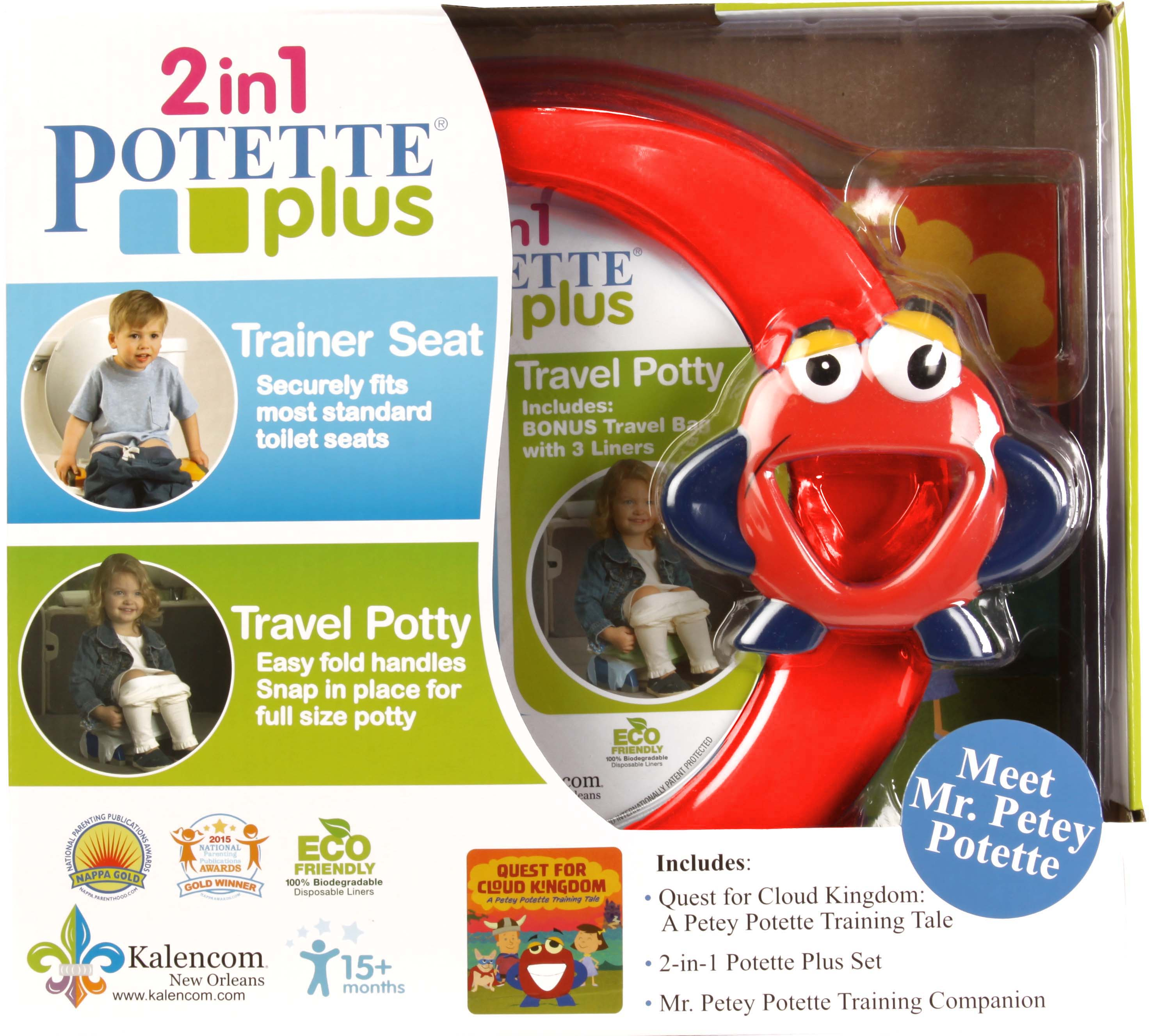 MR. PETEY POTETTE POTTY TRAINING KIT