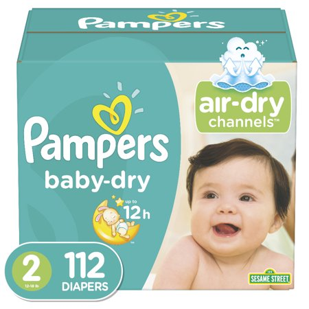 Pampers Baby Dry Diapers Size 2 112 Count