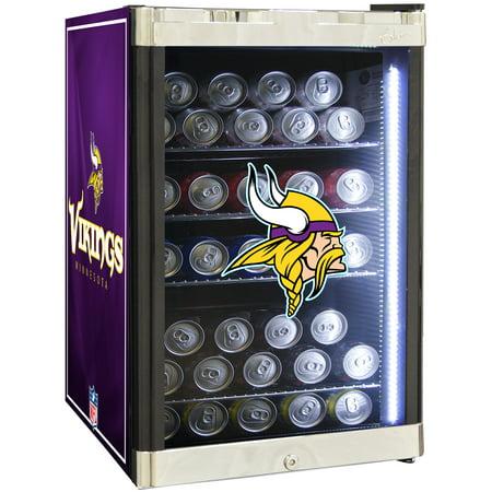 Front Refrigerated Merchandiser - NFL Refrigerated Beverage Center 2.5 cu ft -Minnesota Vikings